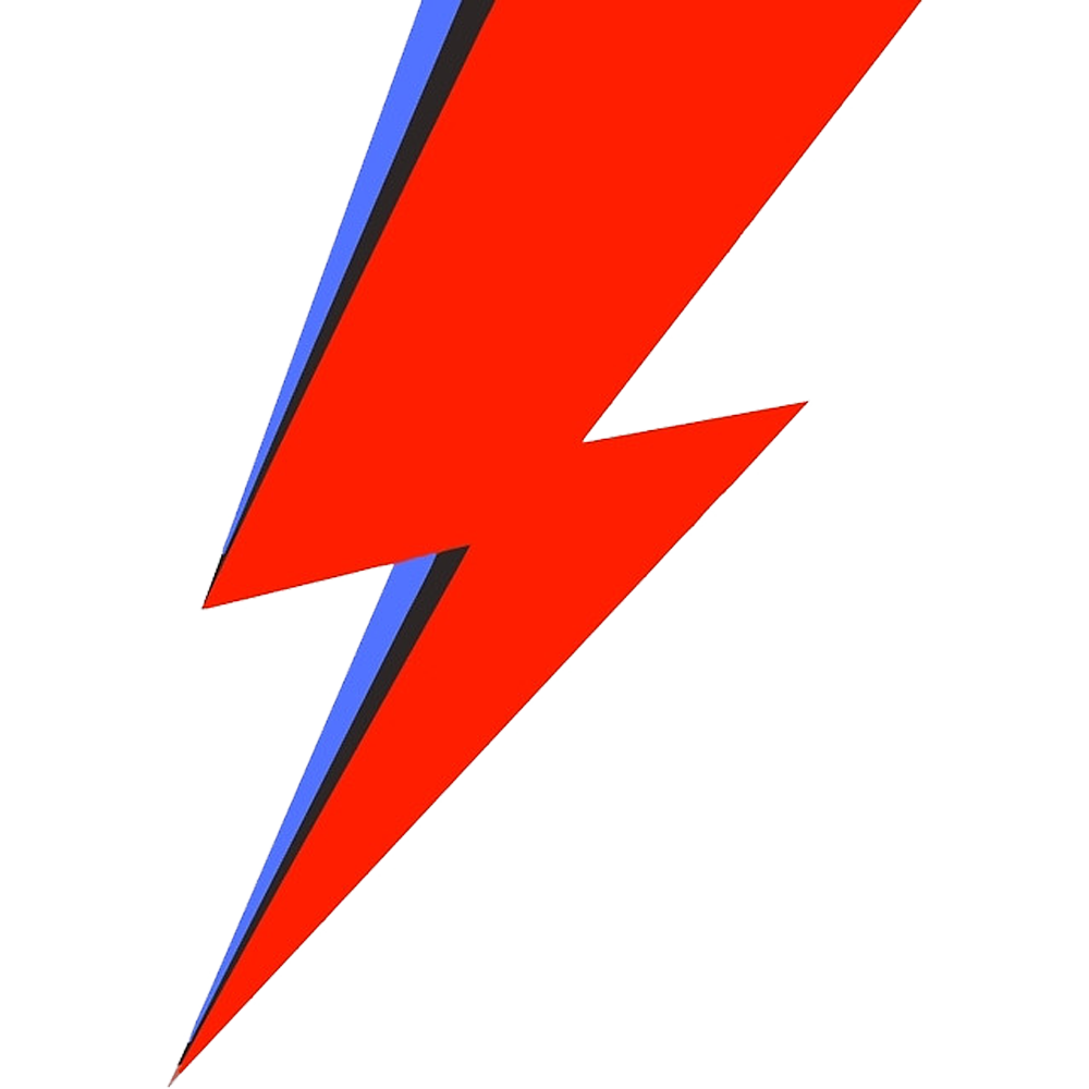 Lightning clipart comic book. Image result for bowie