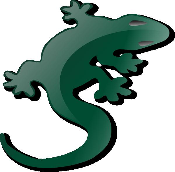 Gecko clipart cartoon. Lizard clip art at