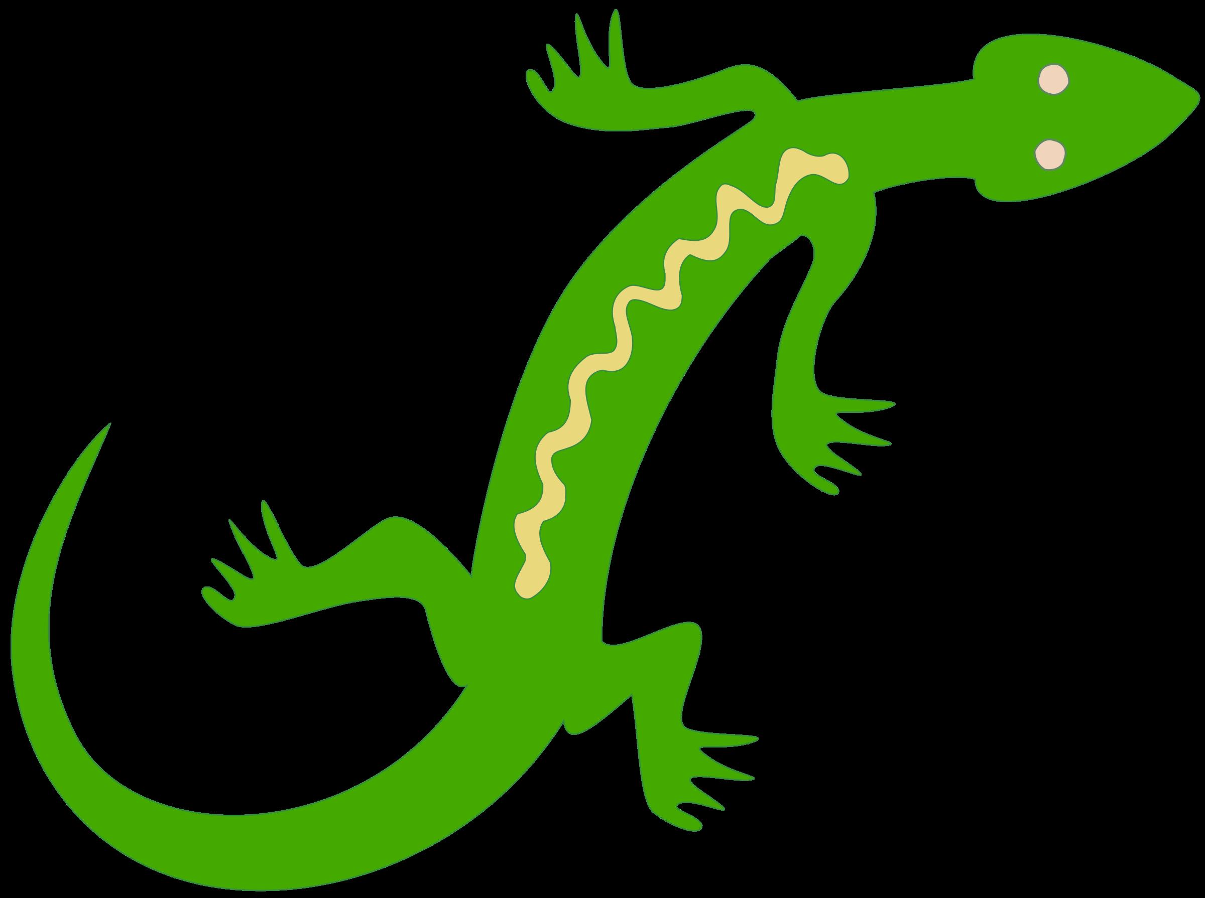 Noble colour big image. Gecko clipart small lizard