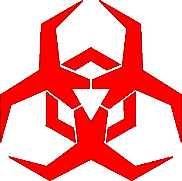 Symbols hazard symbol clip. Cool clipart logo