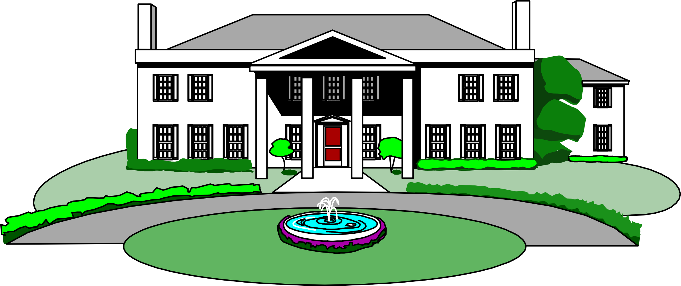 Cool clipart mansion. Big image png