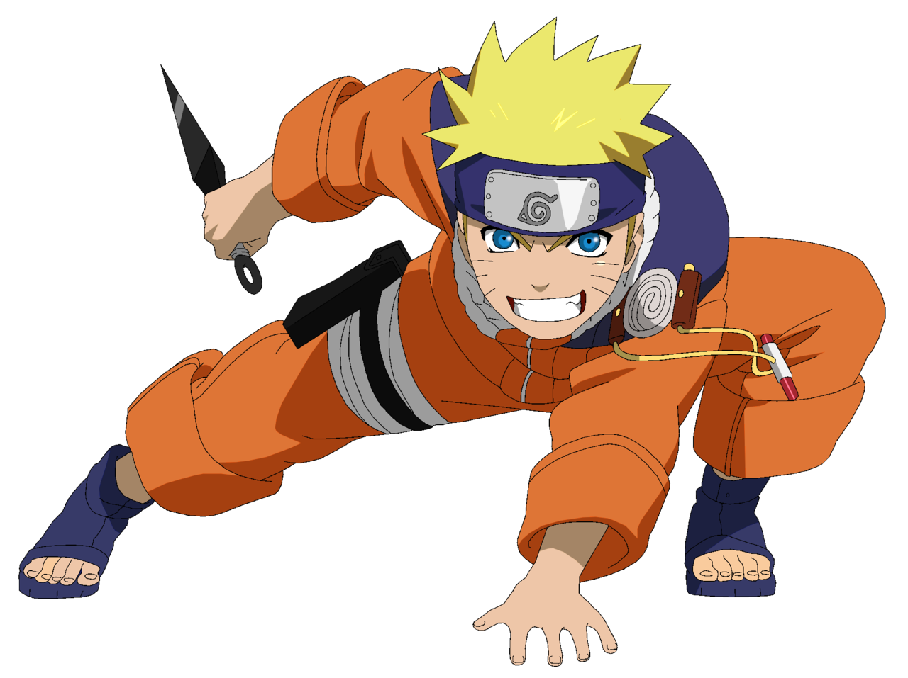 Uzumaki pts lineart colored. Cool clipart naruto