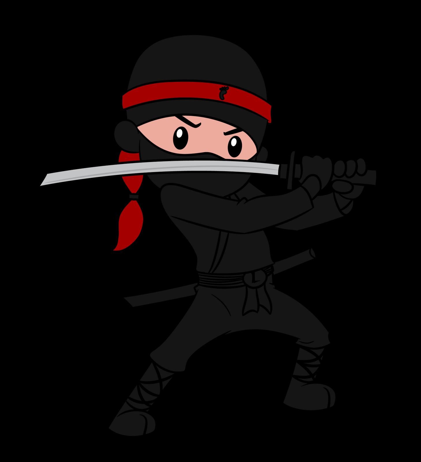 Wanderings of my mind. Ninja clipart kid ninja