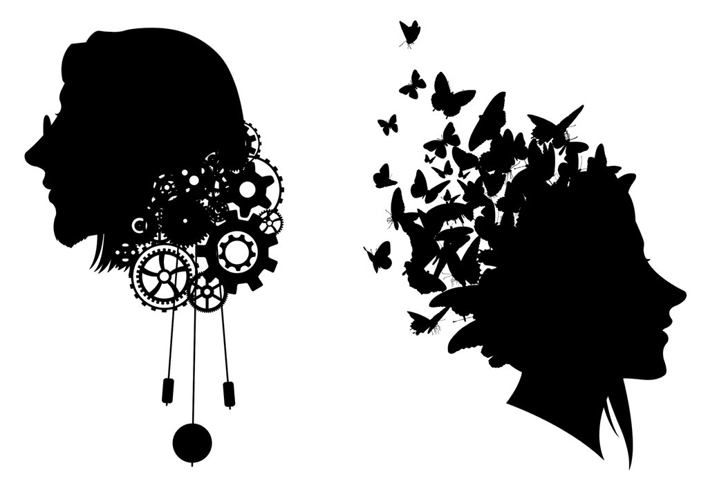 Steampunk clipart silhouette. Free cool art download