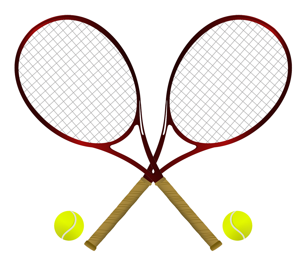 Different kinds of sports. Words clipart tennis