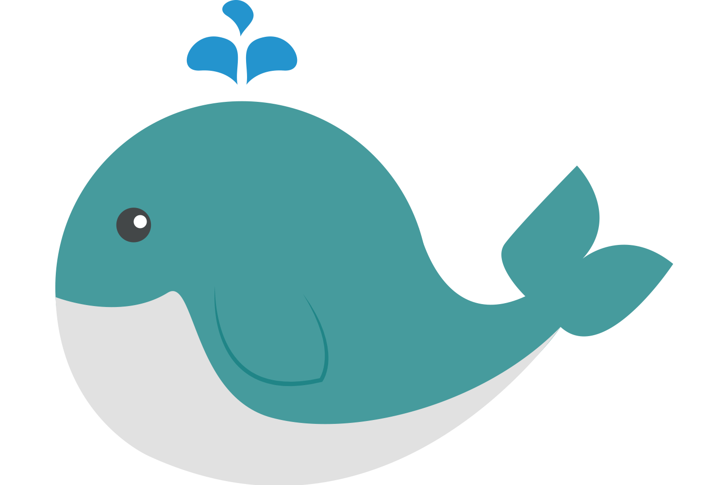 Blue girl free on. Cool clipart whale