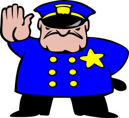 Cop clipart. Panda free images policeclipart