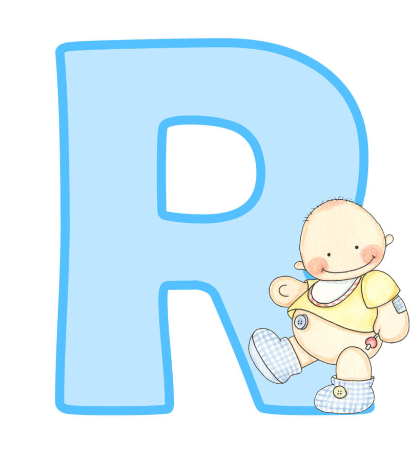 Button boy free on. Letters clipart baby