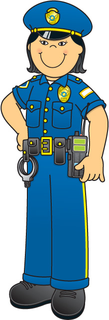Cop clip art library. Office clipart officer