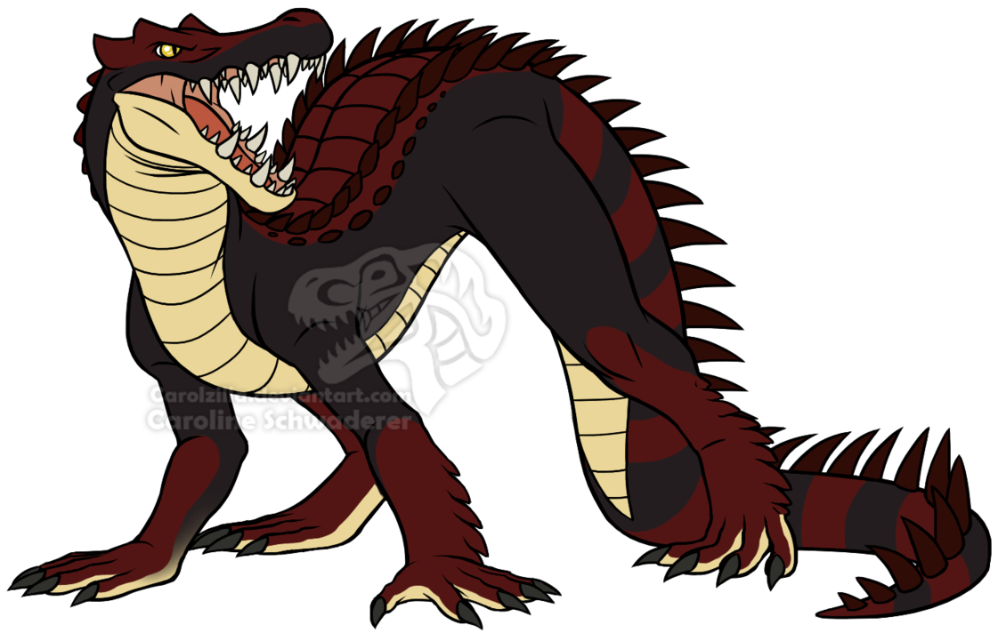 Cop clipart commissioner. Kaprosuchus commission by carolzilla