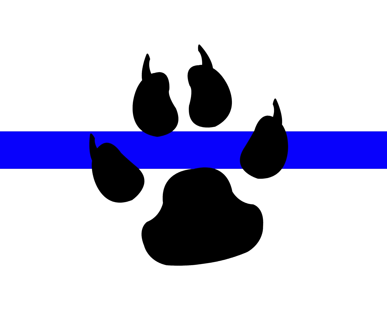 Handcuffs clipart heart shaped. Blue line k military