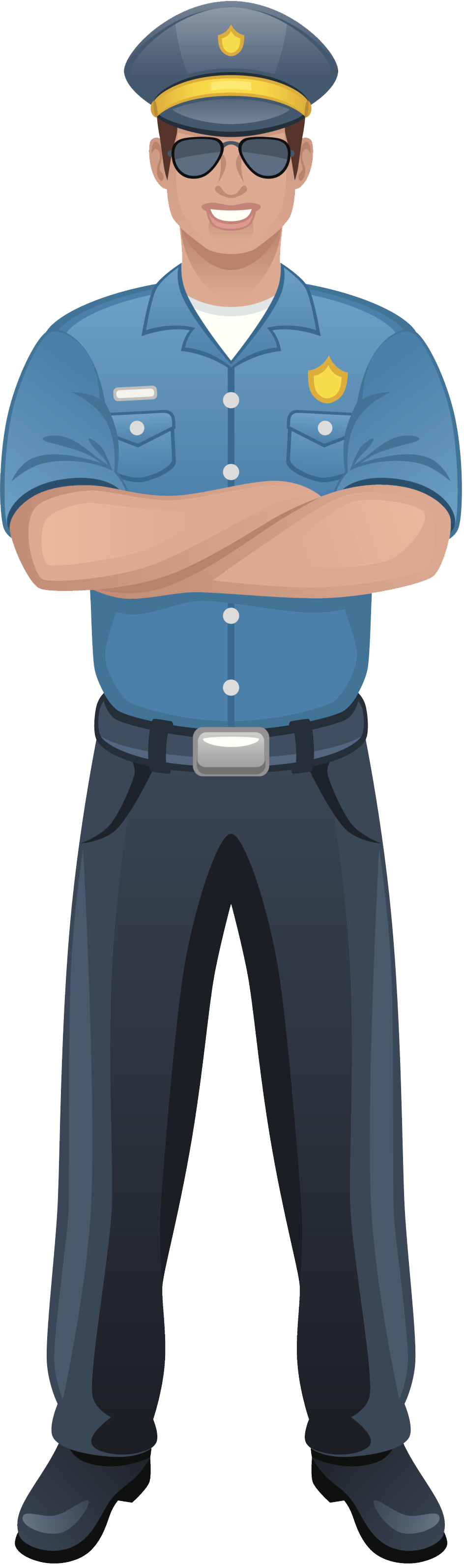 Kids clipart police officer. Traffic policman pencil and