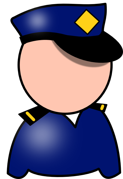 Handcuffs clipart police cap. Free support law enforcement