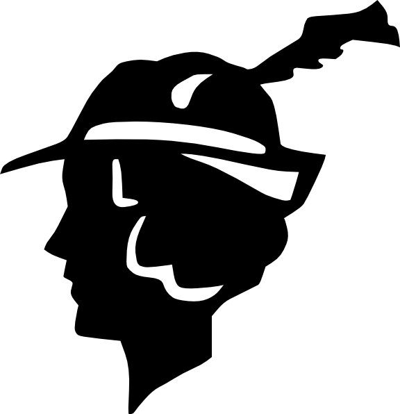 In silhouette at getdrawings. Lady clipart hat