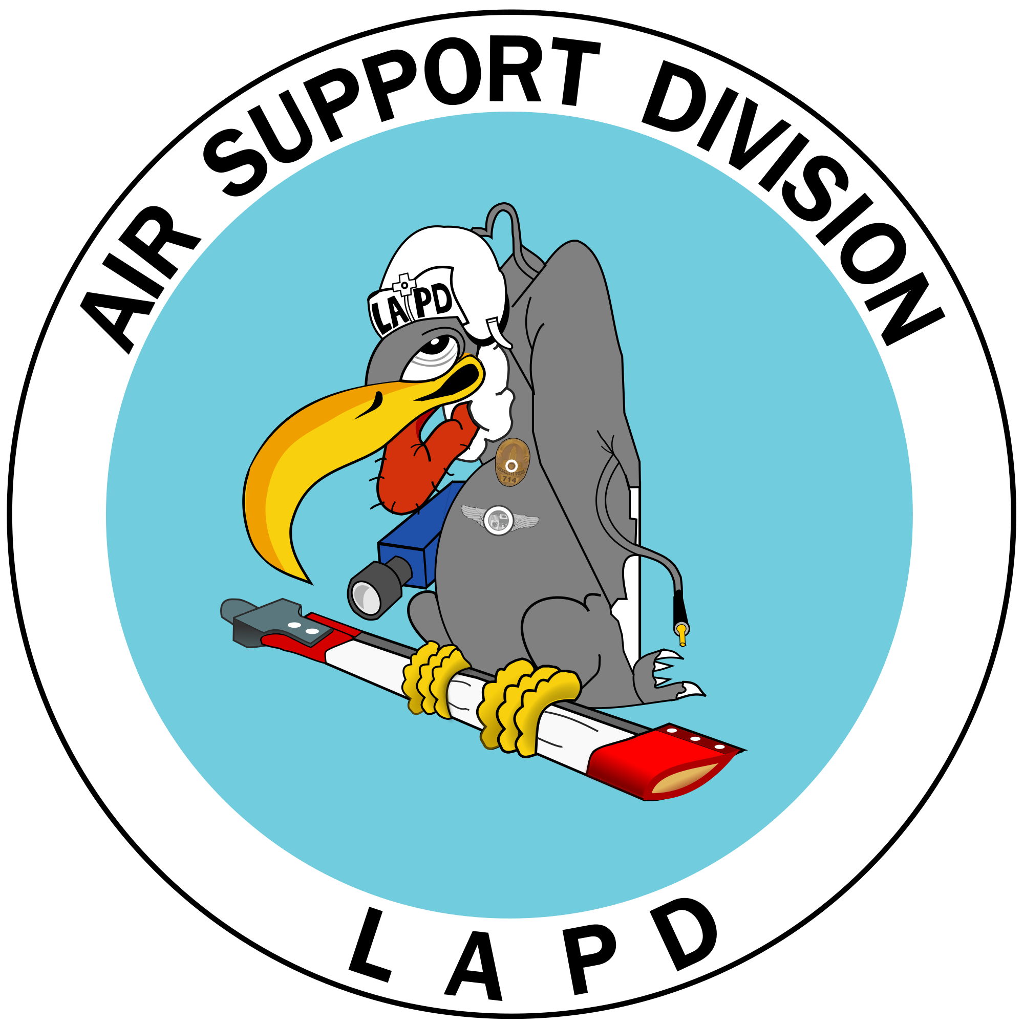 Lapd air support division. Pilot clipart airplane crash