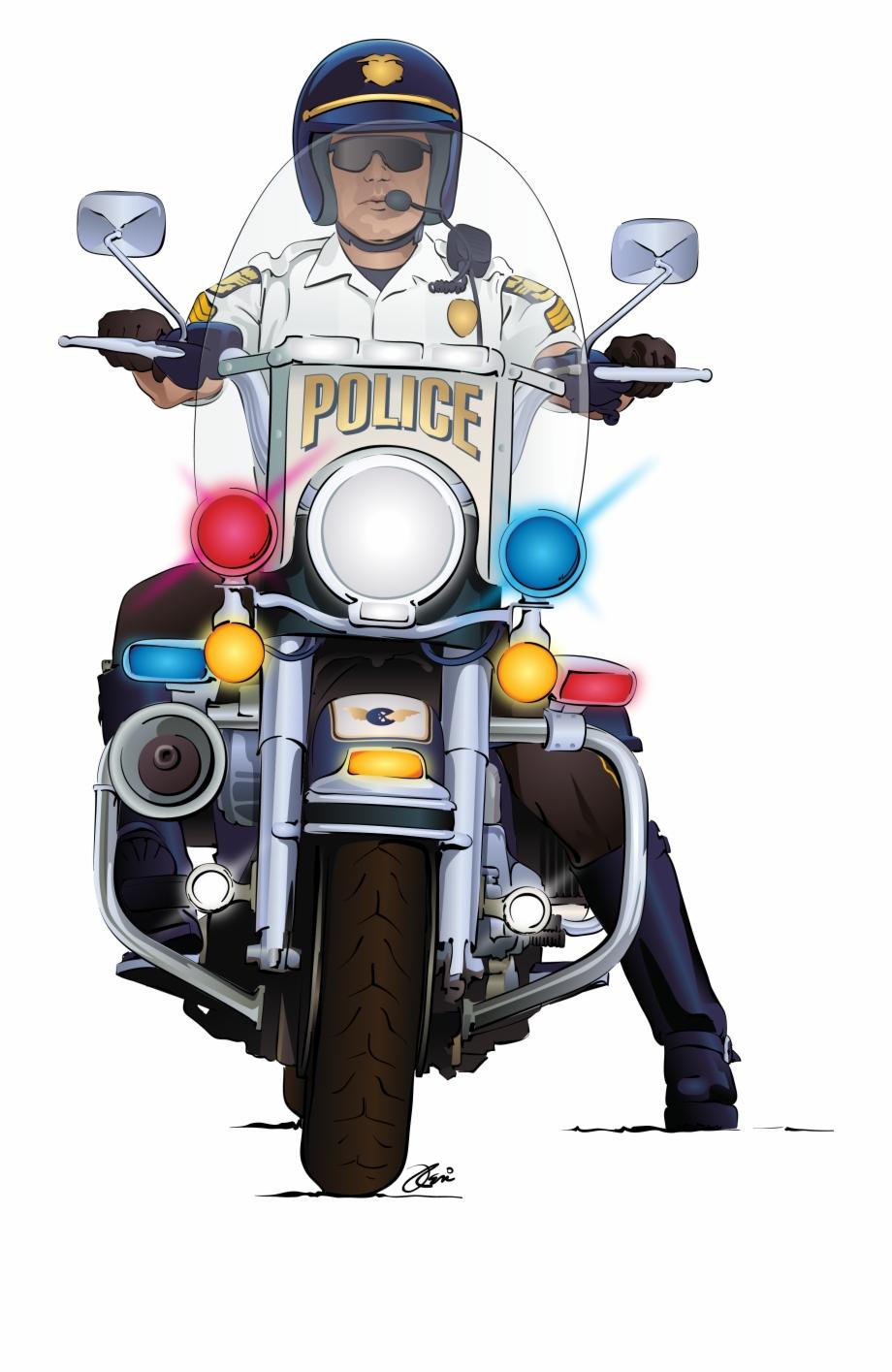 Cop Clipart Motorcycle Cop Cop Motorcycle Cop Transparent