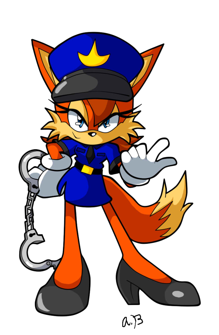 Handcuffs clipart bad cop. Officer fiona by nextgrandcross