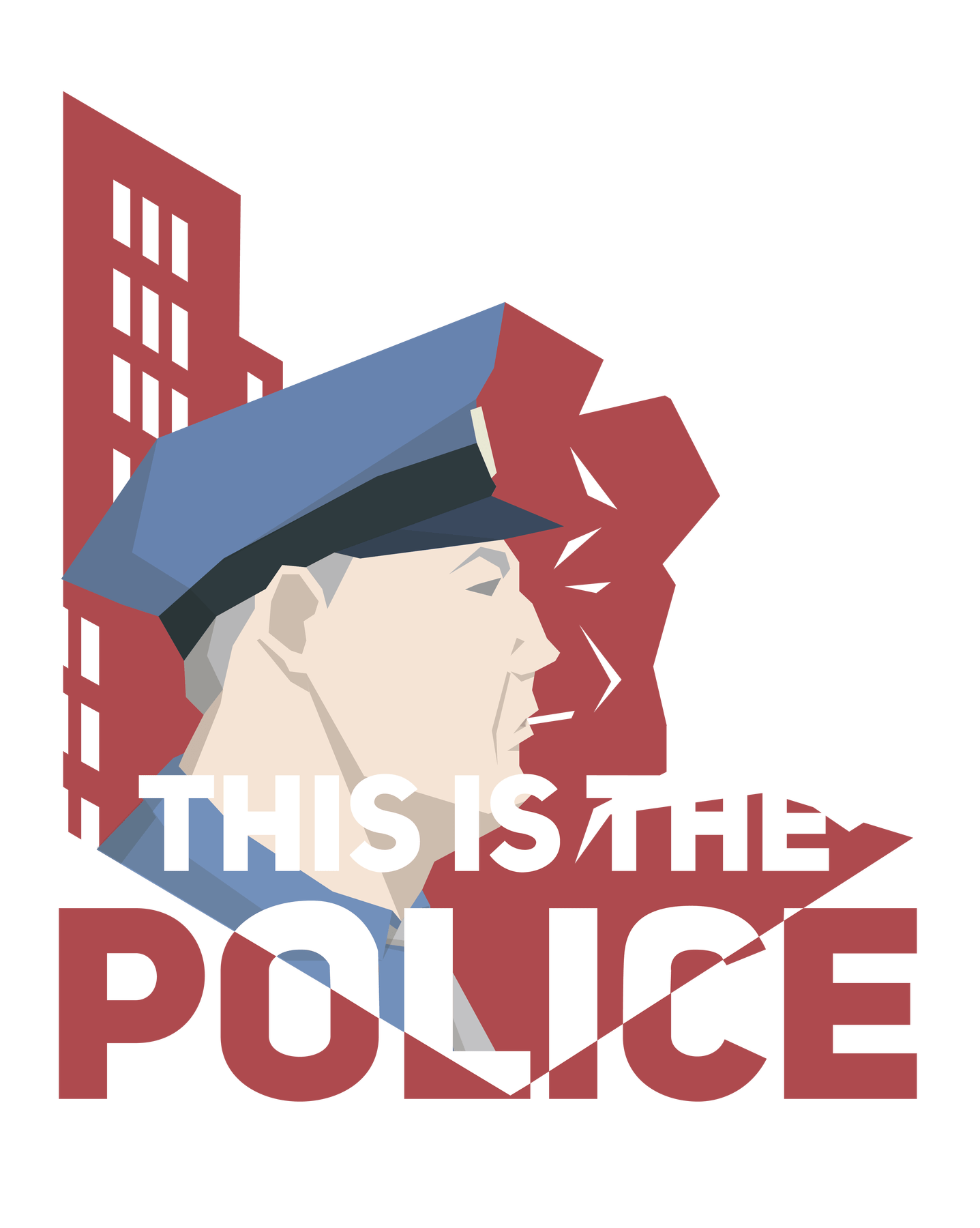 Graduation clipart streamer. This is the police