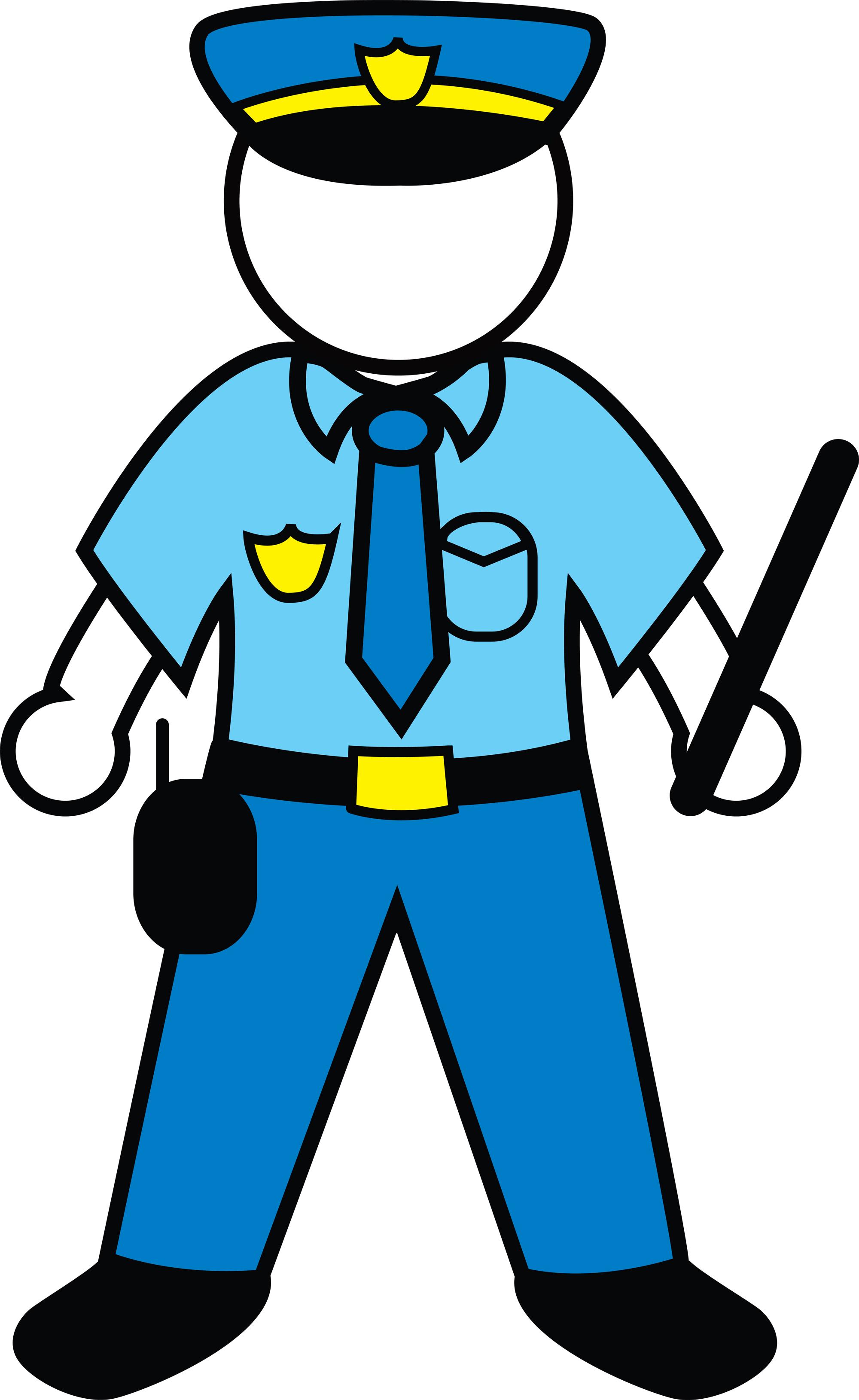 Policeman clipart uniform. Clip art police officer