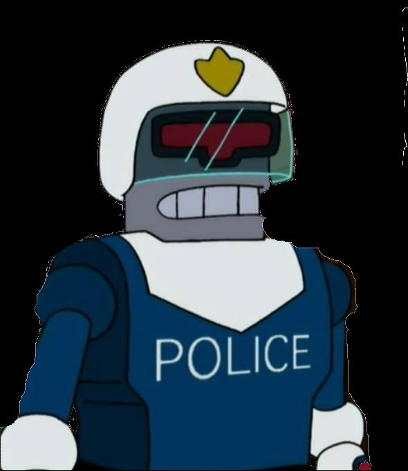 Url futurama wiki fandom. Handcuff clipart policeman