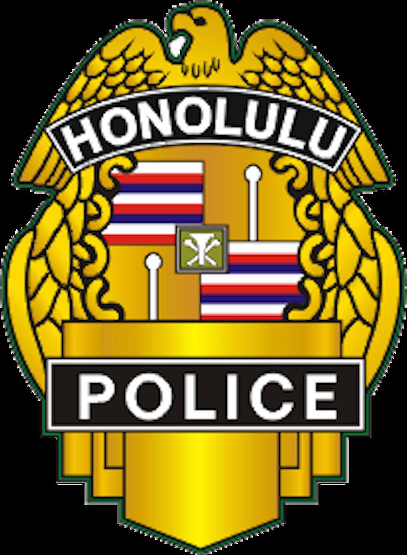 Honolulu pd retired memorial. Detective clipart badge
