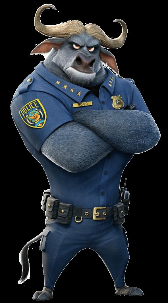 Chief bogo disney wiki. Police clipart police mobile