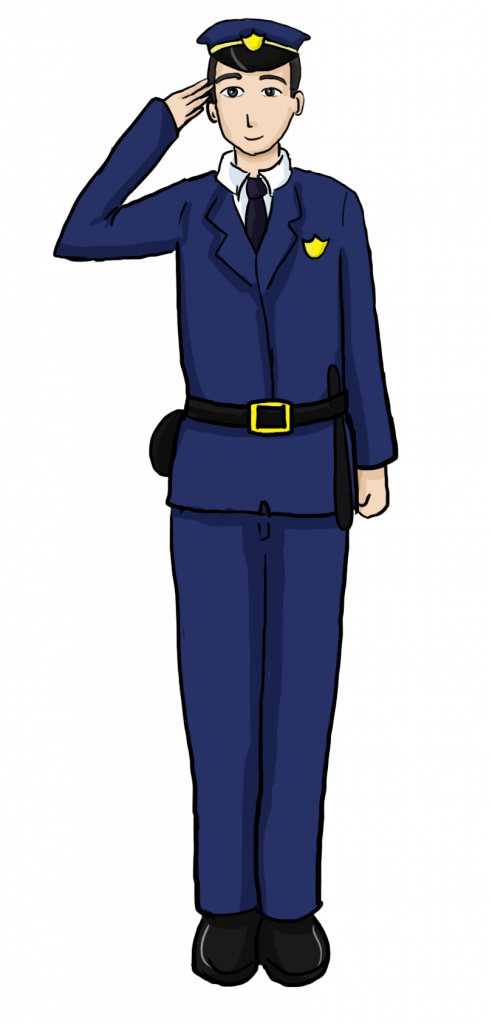 Cartoon policeman character policemanpng. Lady clipart police officer