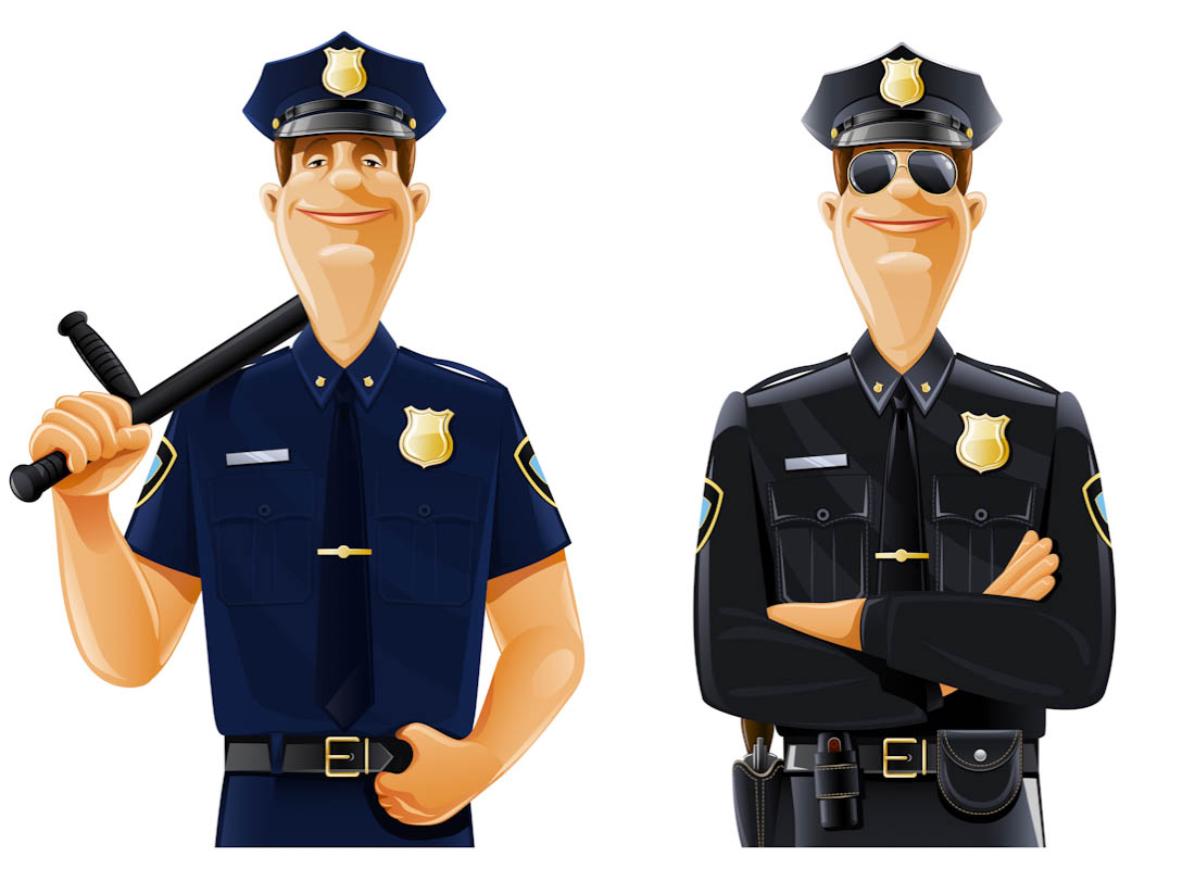 Policeman clipart uniform. Free police cliparts download