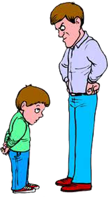 Free download best . Yelling clipart punishment