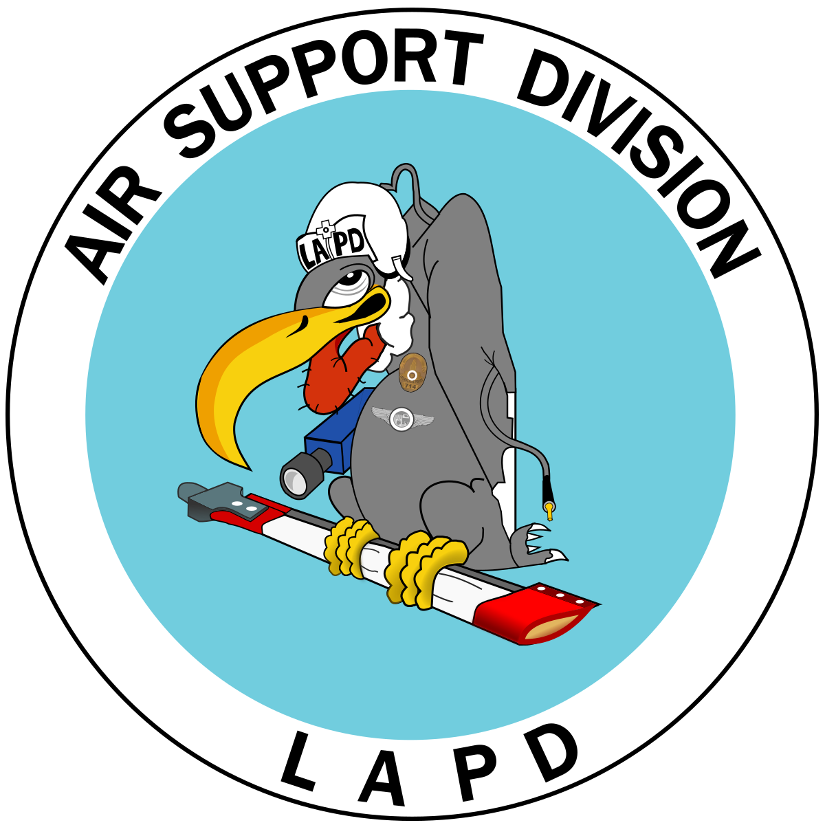 Pilot clipart airport staff. Lapd air support division