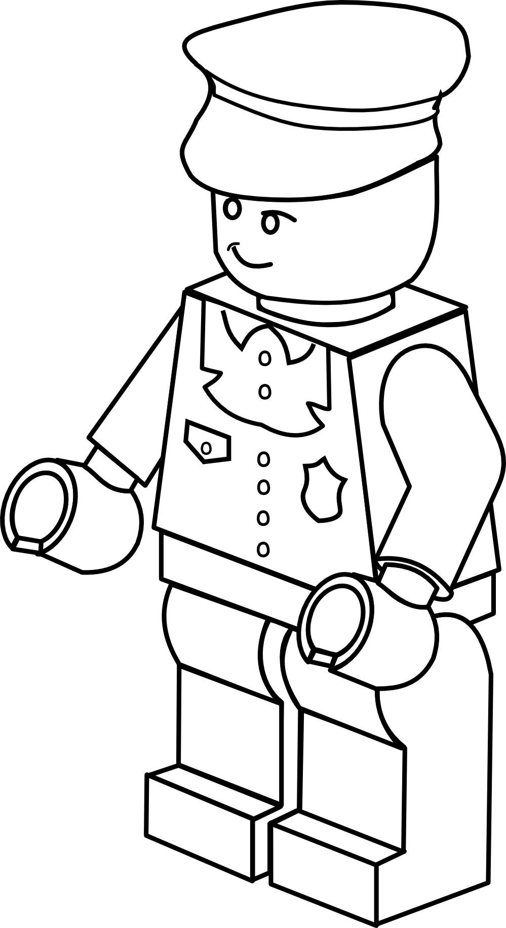 Policeman clipart police suit. Clipartist info lego town