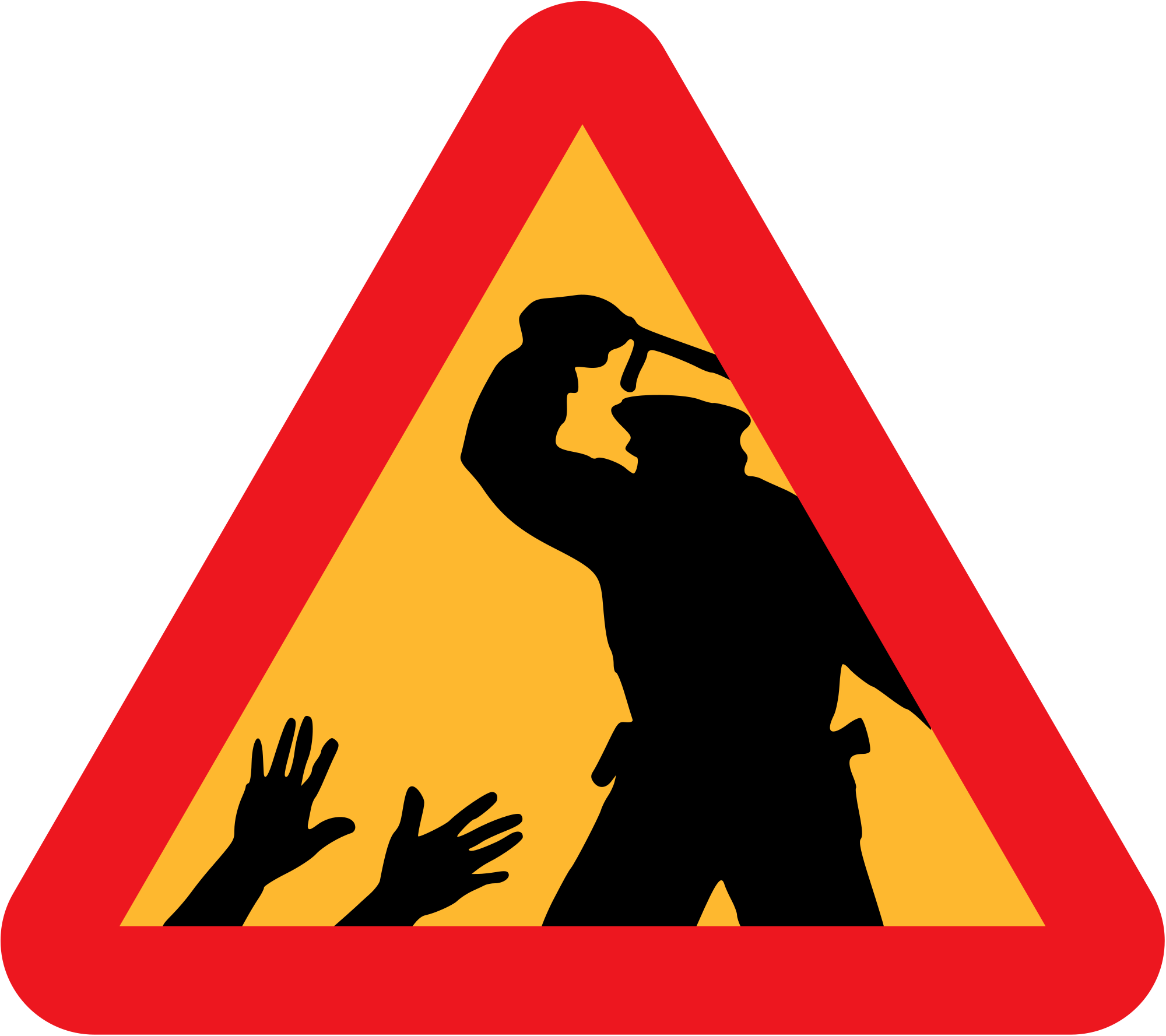 Article carry a badge. Driver clipart police