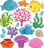 Coral clipart. Clip art royalty free