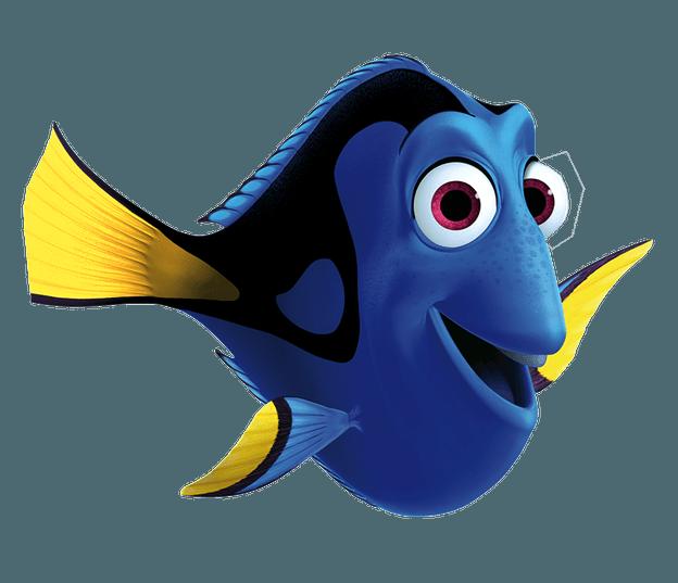 Transparent image tv film. Dory clipart character pixar