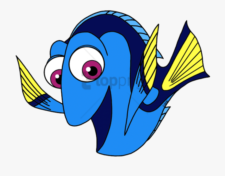 Finding png image with. Dory clipart dory fish