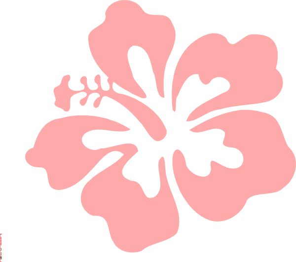 Coral clip art at. Hibiscus clipart printable