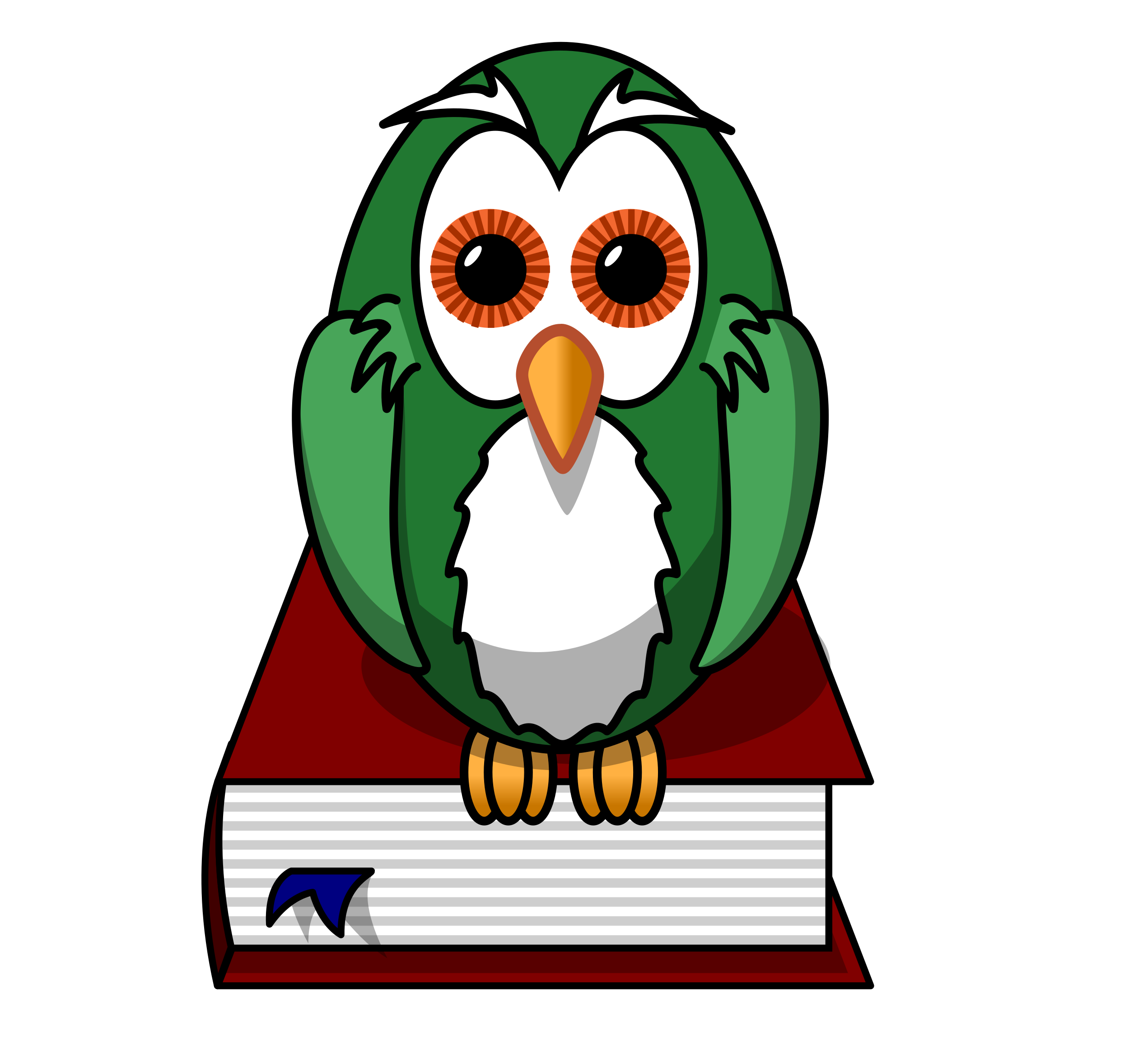 Wildcat clipart owl claw. Green clip art at