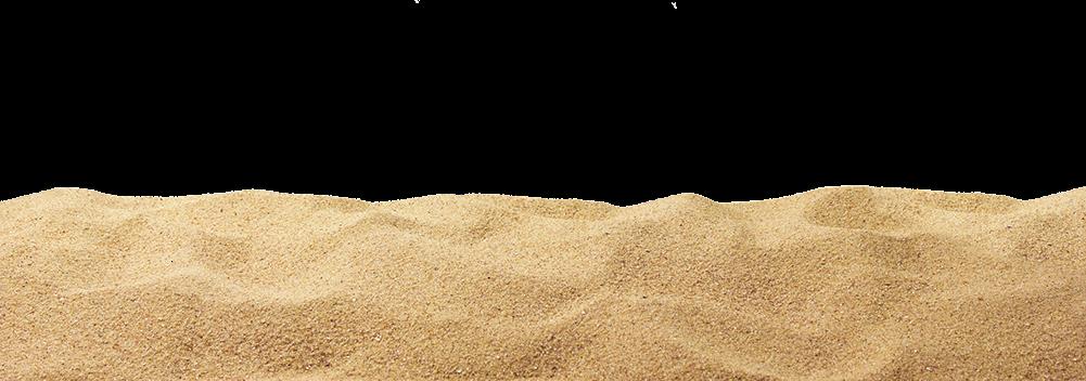 Dirt sand pile