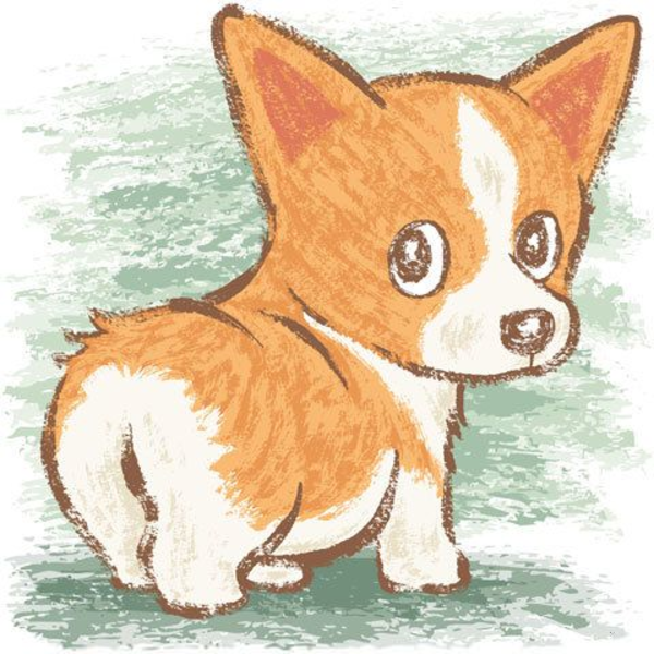 Welsh free images at. Corgi clipart