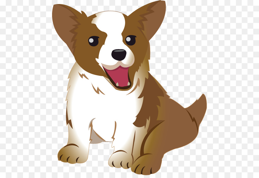 Corgi clipart. Pembroke welsh cardigan dog