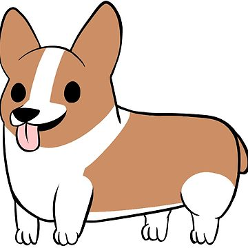 Pembroke welsh at getdrawings. Corgi clipart