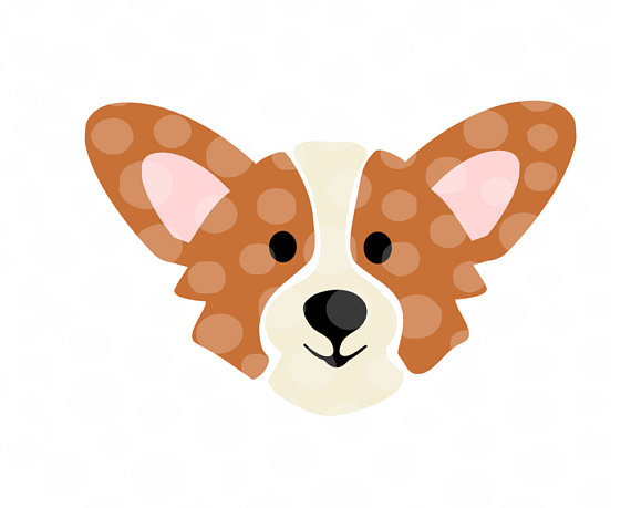 Corgi clipart. Svg welsh silhouette cut