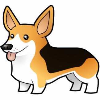 Silhouette vector at getdrawings. Corgi clipart