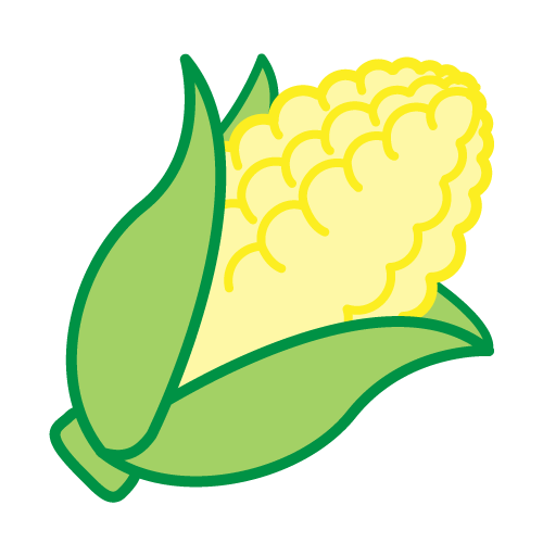 Corn clipart. Cartoon