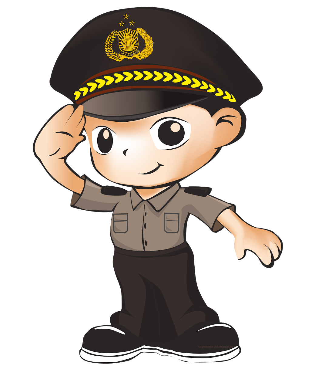 Lady clipart security guard. Logo maskot promoter polri