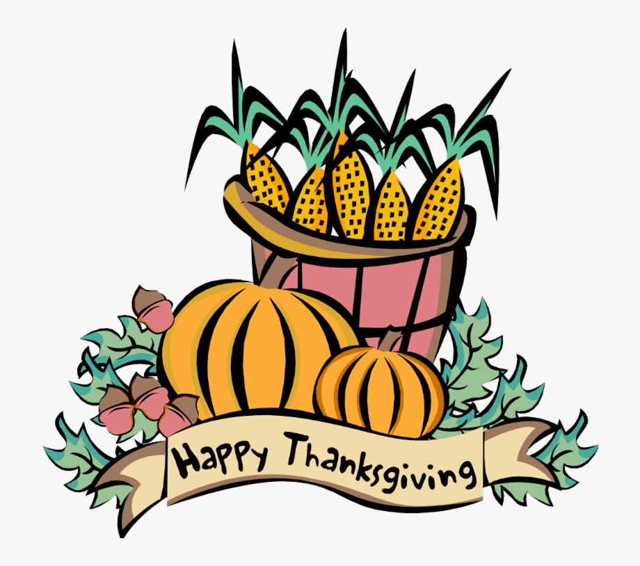 Funeral clipart thanksgiving. Basket of corn