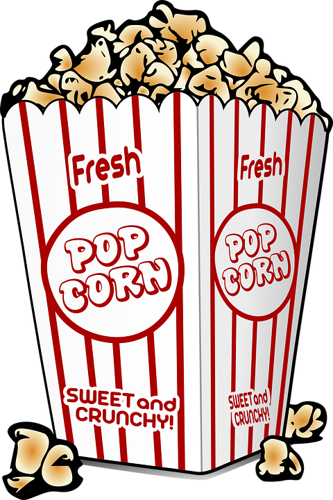 Movie clipart movie night. Collection of kettle corn