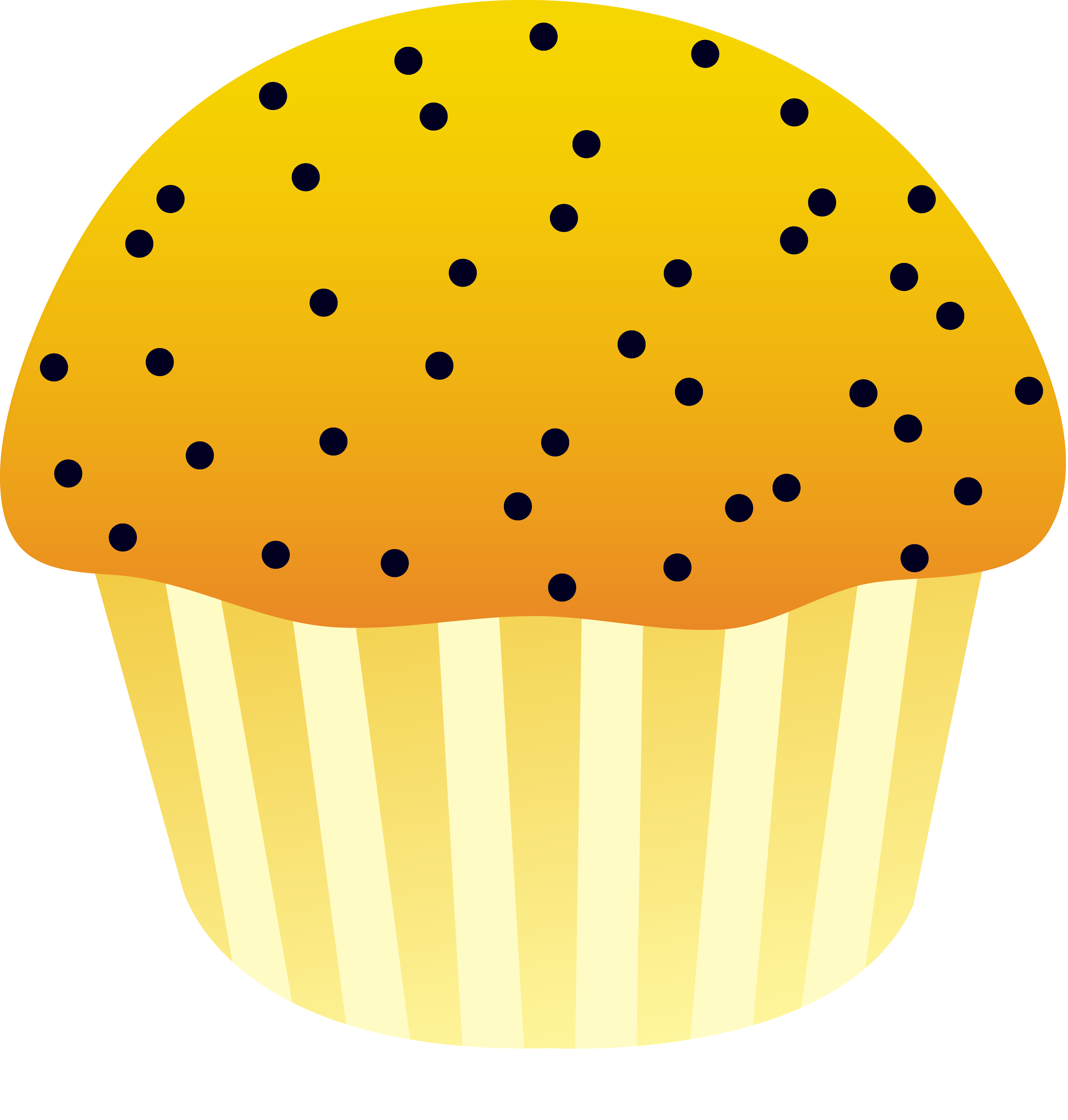 Poppy clipart easy. Muffin free clip art