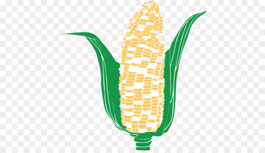 Cartoon food product grass. Corn clipart potato