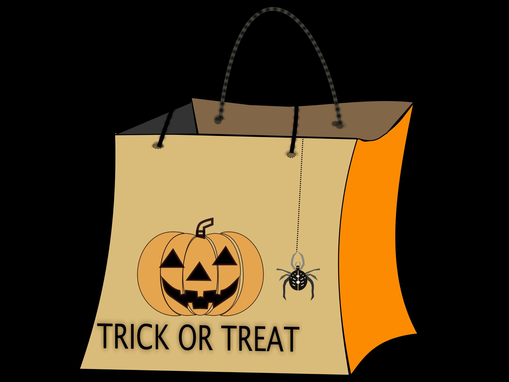 Luggage clipart pile. Halloween bag clip art